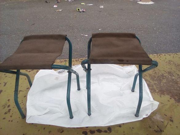 Два детски соц сгъваеми стола