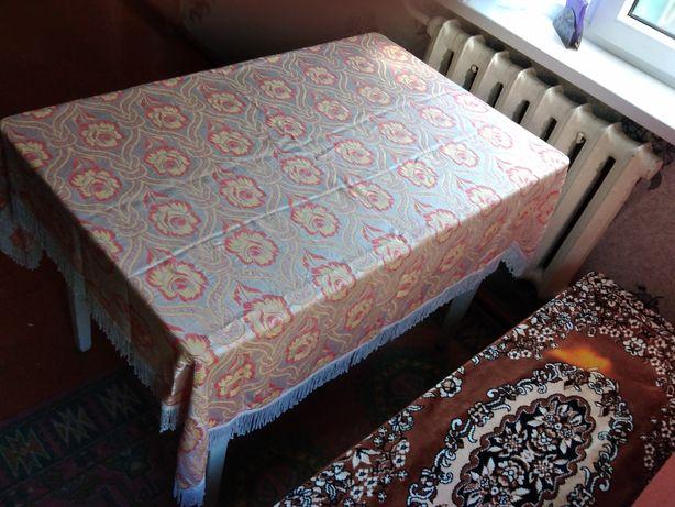Скатерть на стол (советских времен)