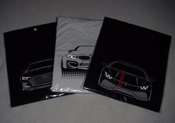 T-shirt BMW/ Audi/ Lamborghini/ GTR/ Тениска БМВ/Ауди/Ламборгини/ГТР