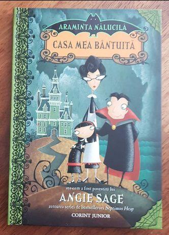 Casa Mea Bântuită  - Angie Sage carte pentru copii