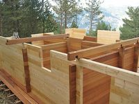 Grinzi lamelare / stratificate molid sau pin nordic pentru constructii
