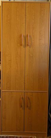 Платяной шкаф двухсекционный