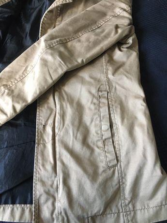 Мъжки шлифер сако тренчкот Zara