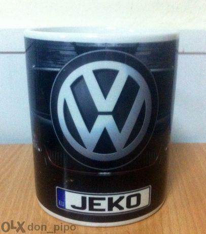 Уникална Чаша на Vollkswagen с Ваше Име! Volkswagen!Авто-мания!