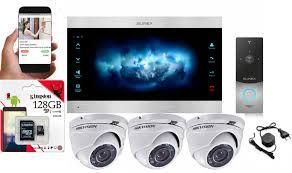 установка видеонаблюдения и домофонов доступные цены