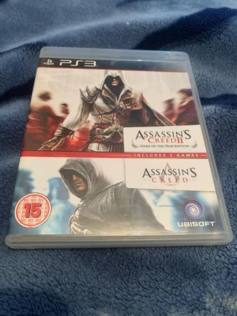 Assassins Creed 1 + 2 Pachet (2in1) PS3 - Playstation 3 - PS 3