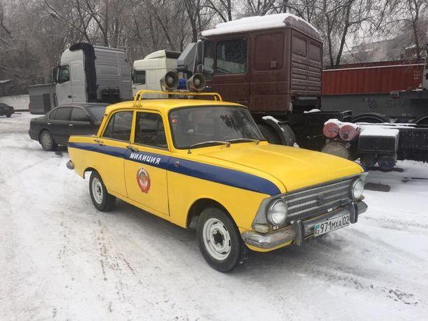 Ретро авто милиции ГАИ СССР