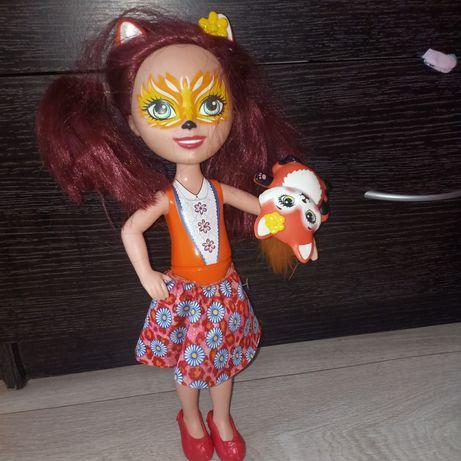 Продам куклу энчатималс большая с питомцем