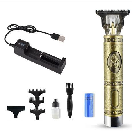 Электрическая беспроводная бритва триммер для стрижки волос и бороды,