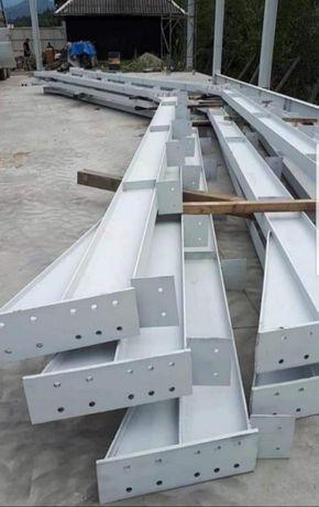 Vând hală metalica urgent 7800 e 11,80m×45m×3m sau 4m oferta limitată
