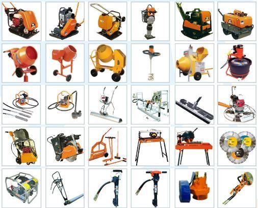 Сервиз лека строителна техника малка механизация