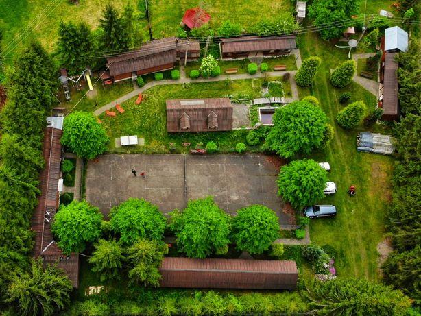 Afacere la cheie în turism - Cabană mare și camping cu 10 căsuțe