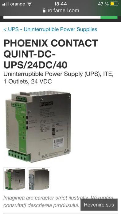 Quint-dc-UPS/24DC/40 - Phoenix Contact Sanandrei - imagine 1