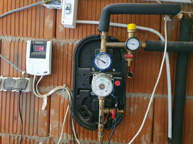 Vând încălzire în pardoseala și panouri solare