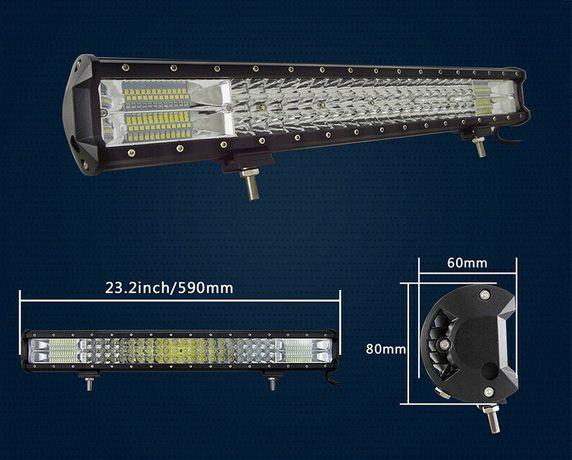[PRET REDUS] Bara LED 375W - 12V - Offroad SUV 4X4 - LED BAR ATV