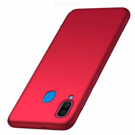 Samsung A40 A50 A70 Husa Ultra Slim Din Silicon Rosie, Neagra