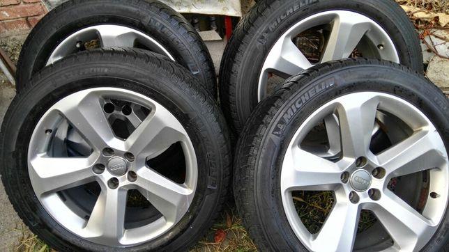 Set 4 roti R19, 5x112, AUDI, VW, SEAT, SKODA, de iarna, jante+anvelope