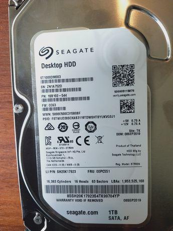 Новый HDD жёсткий диск 1000г