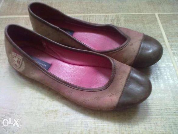 Обувки тип балерини TOMMY HILFIGER