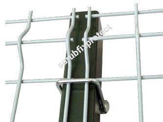 Sistem 60*60 pt. prindere garduri fără găurirea stalpilor/bride