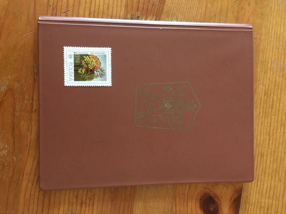 Две албумчета с пощенски марки . Брошури
