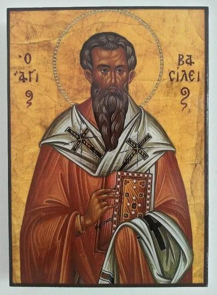 Икона на Свети Василий, различни изображения ikona Sveti Vasilii гр. Пловдив - image 1