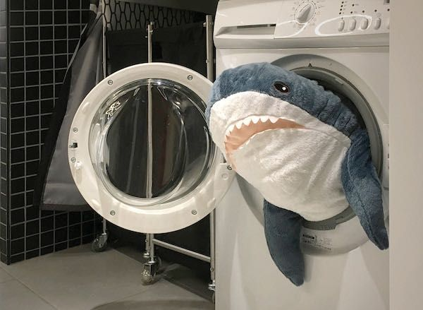Акула из IKEA Алматы(KZ)