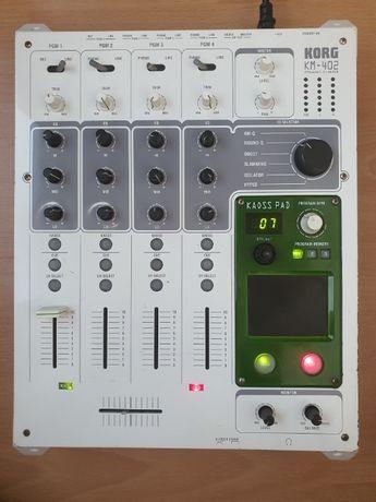 Mixer DJ Korg KM-402 cu pad KAOSS