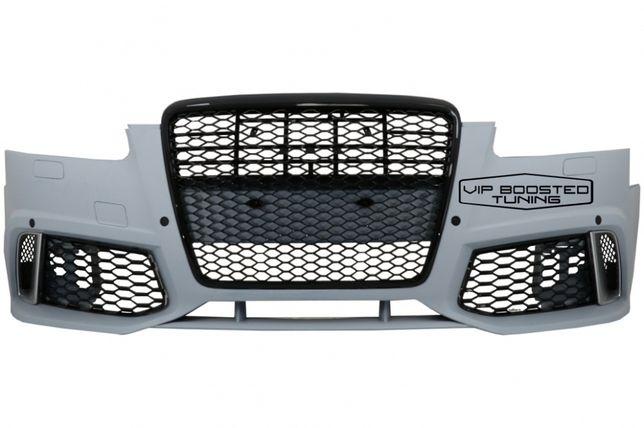 Bara Fata + grila Audi A6 C6 4F Sedan Avant (2004-2010) RS6 Design