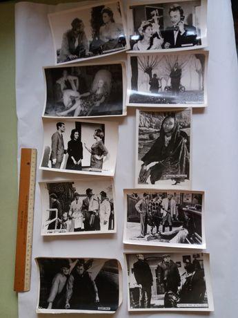 Lot zece fotografii din filme straine vechi
