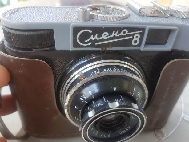 Aparat foto vechi  rusesc SMENA 8  ,  în perfectă stare