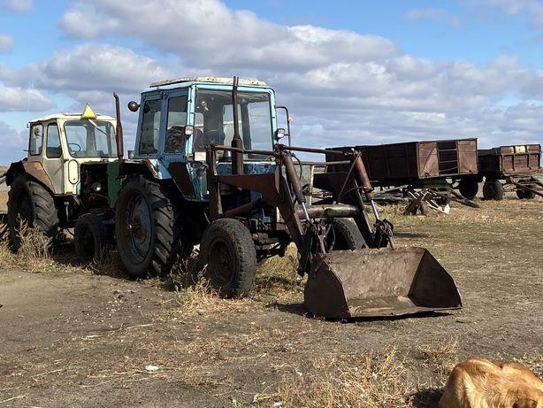 Трактор МТ3-80 с куном