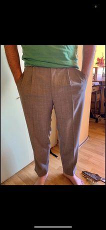 Pantaloni eleganti barbatesti cu lana