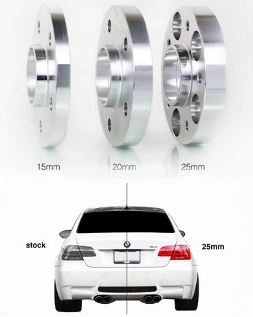 Flanse distantiere BMW 10 mm 11,12, 13, 15,17,20 mm 25 mm 30 mm ..70mm