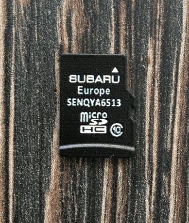 2021 Сд Карта Subaru Micro Sd Card GEN2 Map Европа РУСИЯ Турция Навига