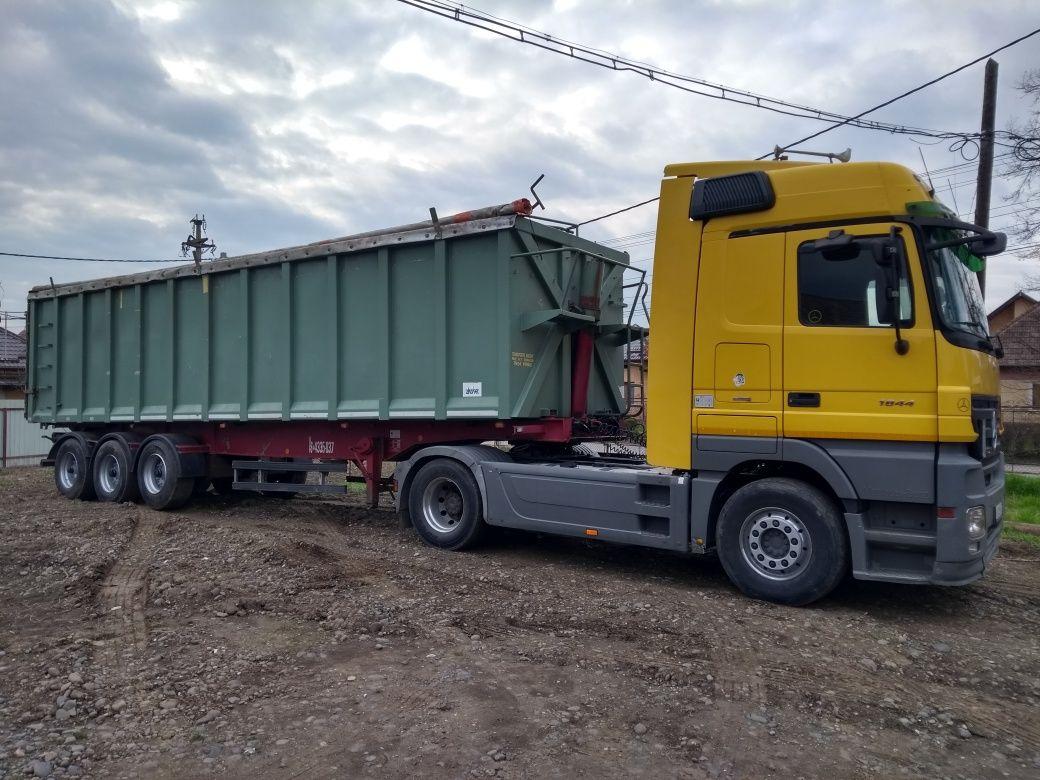 Transport cereale / Transportator rapita,grau,porumb,f. soarelui,etc.
