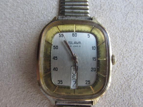 стар руски ръчен часовник слава 26 jewels