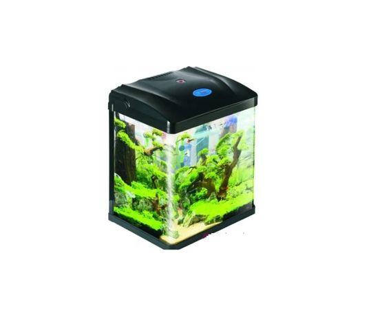 Аквариум за Рибки 8 литра Лед с осветление и помпа