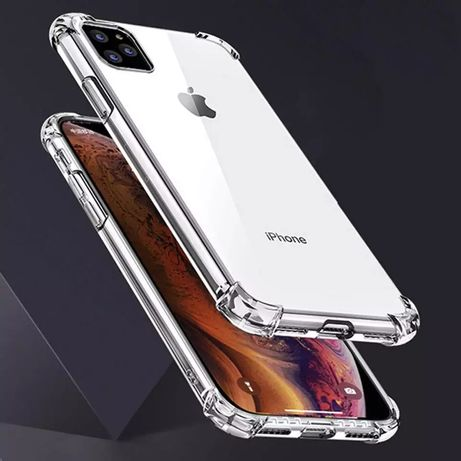 Прозрачен Удароустойчив Силиконов Кейс за Iphone 11 / 11 Pro / 11 Max