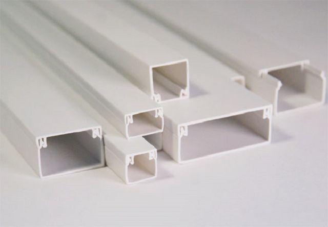 Канал кабельный кабель-канал короб белый новый СКС