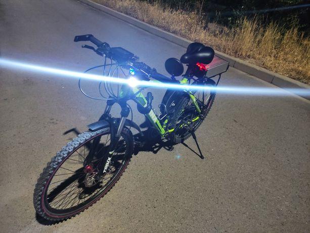 Мощный электрический велосипед разгон до 50 км час