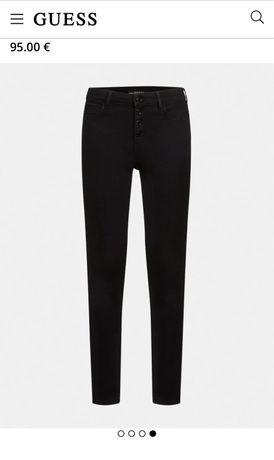 Нов черен панталон GUESS