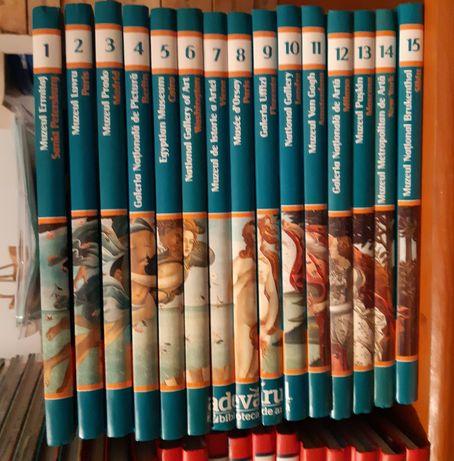 Vand Marile muzee ale lumii 15 volume colectia adevarul