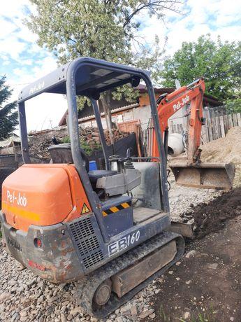 Miniexcavator 1.7 tone