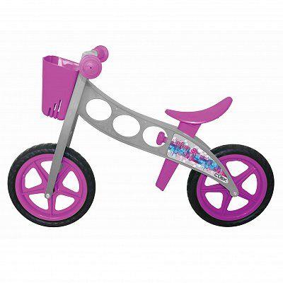 Bicicleta fara pedale (pedagogica) 'NFUN 'NRIDE CUBIX, Gri/Mov