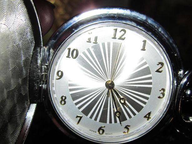 ceas nou de buzunar in cutie originala