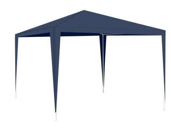 Cort pavilion de gradina 3 x 3m, cu cadru metalic , albastru