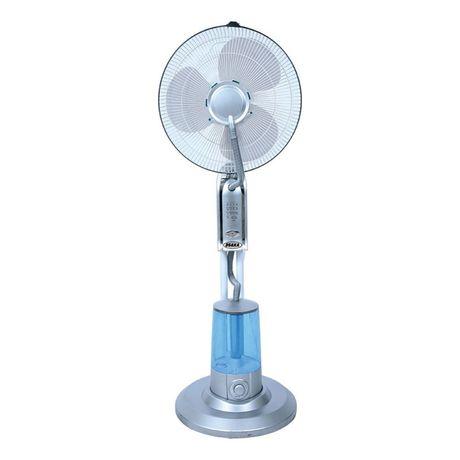 Вентилатор с водна мъгла, с дистанционно управление.  Вентилаторът за