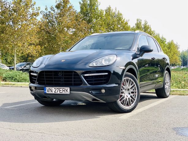 Porsche Cayenne Turbo 500hp
