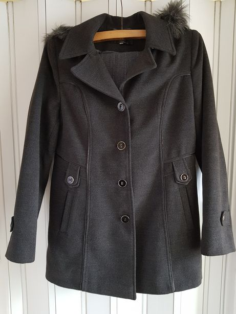 Palton damă gri